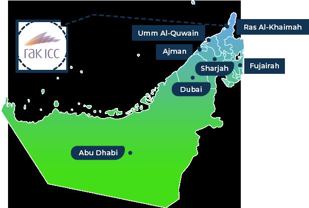 RAKICC Map