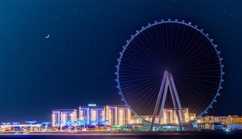 Ain Dubai Opens to the Public
