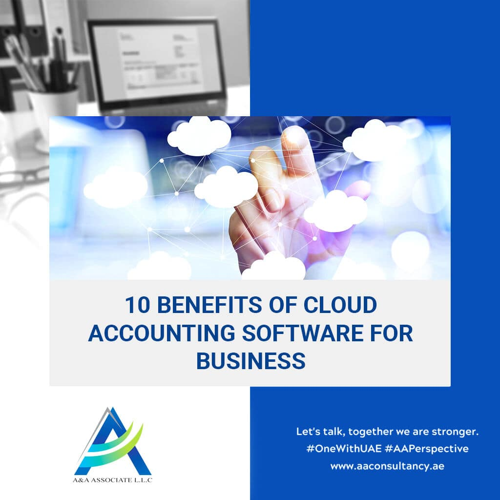 10 benefits of cloud accounting software for business