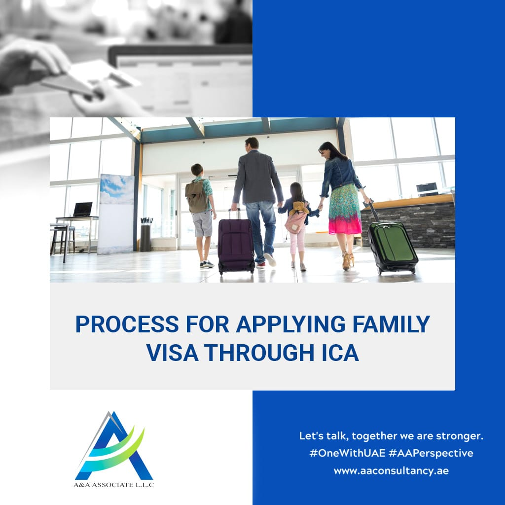 UAE – How to apply for a family visa through ICA